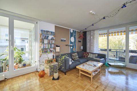 Helle 3-Zimmerwohnung mit großem Balkon (barrierefrei)