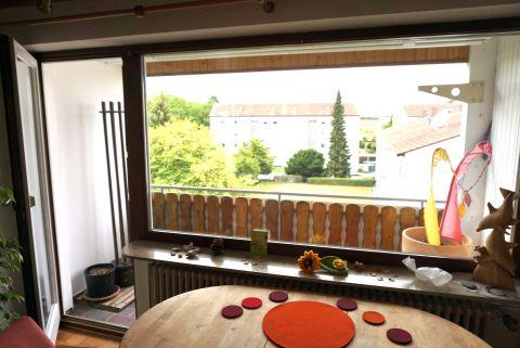 Frei werdend! 3-Zimmerwohnung mit sonnigem Balkon