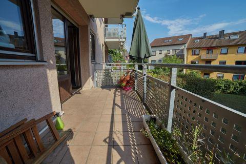 Schöne 2- Zimmerwohnung mit Balkon
