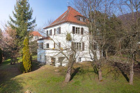 Historische Villa mit großem Grundstück in ruhiger, zentraler Lage
