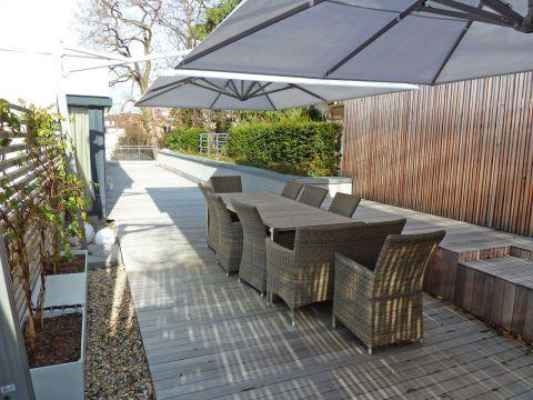 Barrierefreie Luxuswohnung mit großer Terrasse in perfekter Innenstadtlage