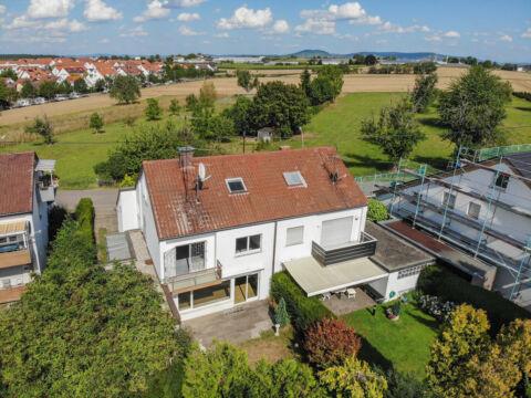 Großzügige Doppelhaushälfte mit Garten in Ortsrandlage!