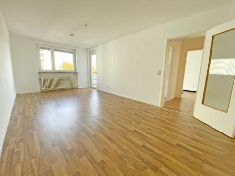 Helle 2 Zimmerwohnung mit Balkon, EBK und neuem Bad!