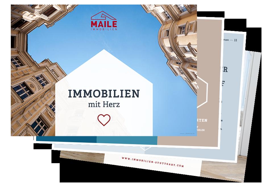 Maile Immobilien Imagebroschüre
