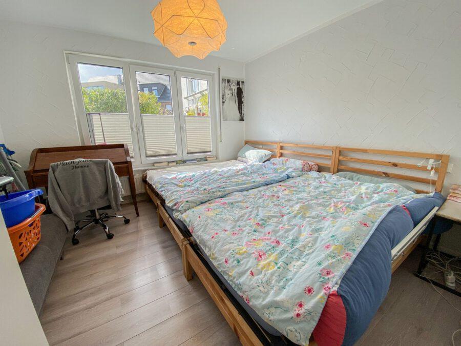 Barrierefreie 4,5 Zimmerwohnung mit großer Terrasse. - Schlafzimmer