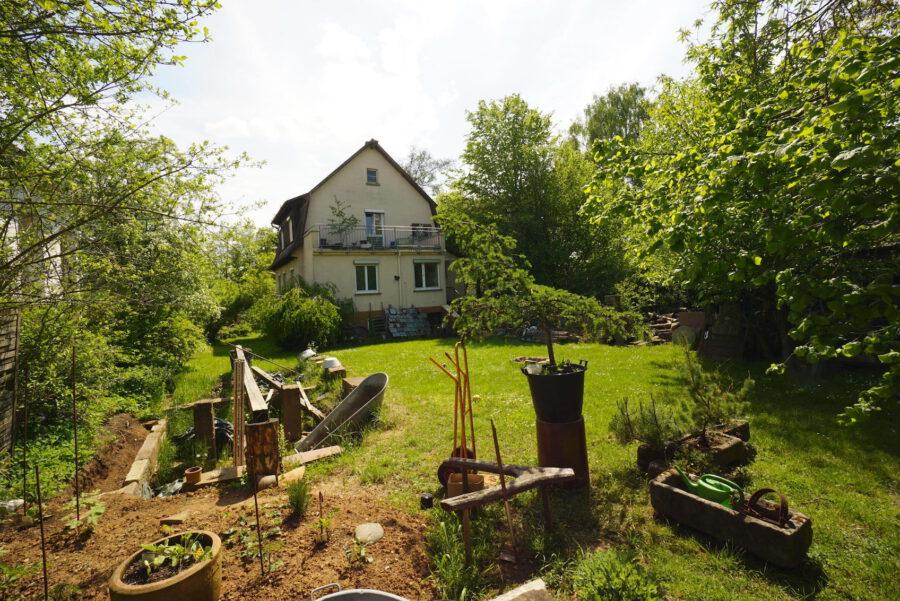 Gefragtes Baugrundstück in grüner Lage von Renningen - Hausansicht