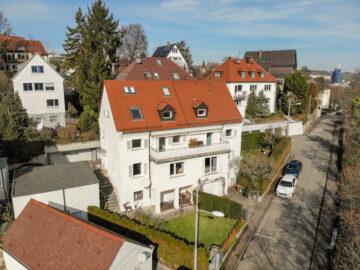 Sonnige DHH mit Garten, Balkon und Garage, 70191 Stuttgart Stuttgart-Nord, Doppelhaushälfte