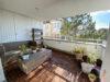 Helle und großzügige 4,5-Zimmer Wohnung mit 3 Terrassen und tollem Blick - Balkon 1