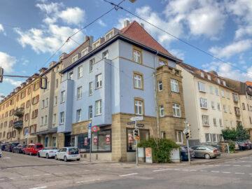 Gut sichtbare Laden-/Bürofläche im Herzen des Stuttgart Ostens, 70188 Stuttgart Stuttgart-Mitte, Einzelhandelsladen