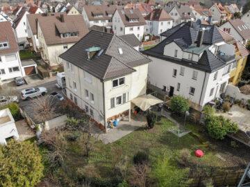 4-Parteienhaus mit großem Garten und Potenzial in gefragter Lage., 70327 Stuttgart Untertürkheim, Mehrfamilienhaus