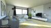 Schöne 3,5 Zimmerwohnung in ruhiger Lage - Wohnzimmer (nach Renovierung)
