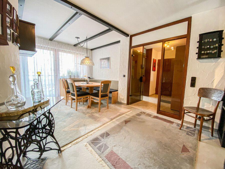 Großzüge, barrierefrei 4,5 Zimmerwohnung in ruhiger Lage - Esszimmer