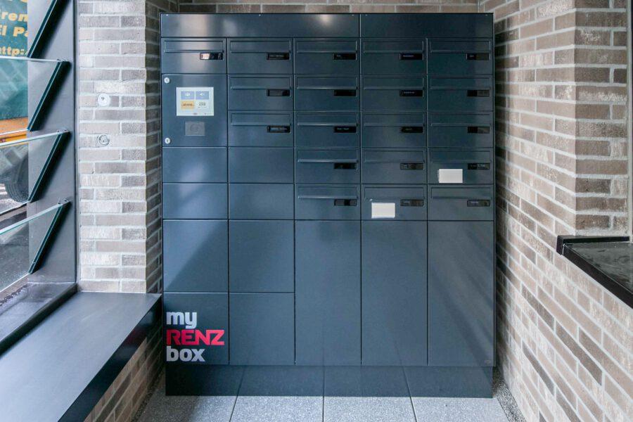 Luxuriöse Wohnung in exzellenter Lage - Paketbox