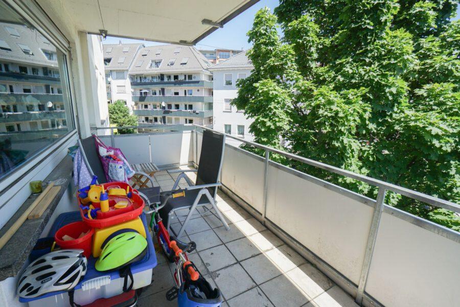 Sonnige 3-Zimmerwohnung in toller Lage - Balkon