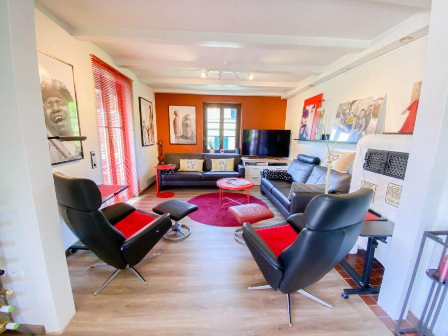 Traumhafte 2,5 Zimmerwohnung mit großem Balkon in idyllischer, stadtnaher Lage - Innenansichten