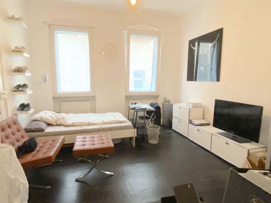 Hochwertig 4- Zimmerwohnung mit EBK (WG-geeignet) - Schlafen 1