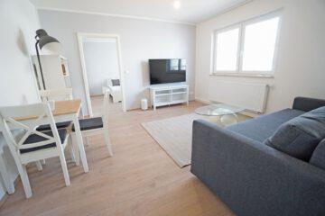 Möbliertes 2-Zimmer-Apartment an den Mineralbädern mit Einbauküche und Tageslichtbad, 70190 Stuttgart, Apartment