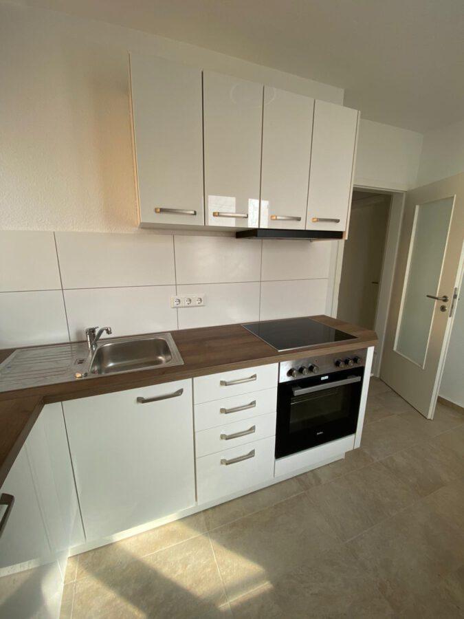 Möbliertes 2-Zimmer-Apartment an den Mineralbädern mit Einbauküche und Tageslichtbad - Küche