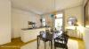 Beletage-Altbauwohnung in zentraler Lage mit großer Terrasse - Beispiel Küche/essen