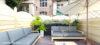 Beletage-Altbauwohnung in zentraler Lage mit großer Terrasse - Terrasse Beispiel