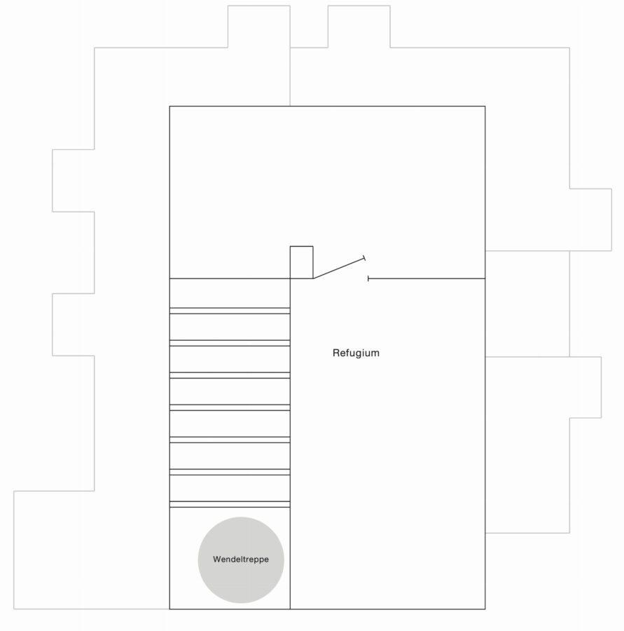 Loftartige Maisonettewohnung mit EBK in zentraler Lage - DG2