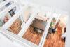 Loftartige Maisonettewohnung mit EBK in zentraler Lage - Blick von Galerie