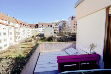 Im Herzen des Südens mit großem Balkon, 70180 Stuttgart, Etagenwohnung