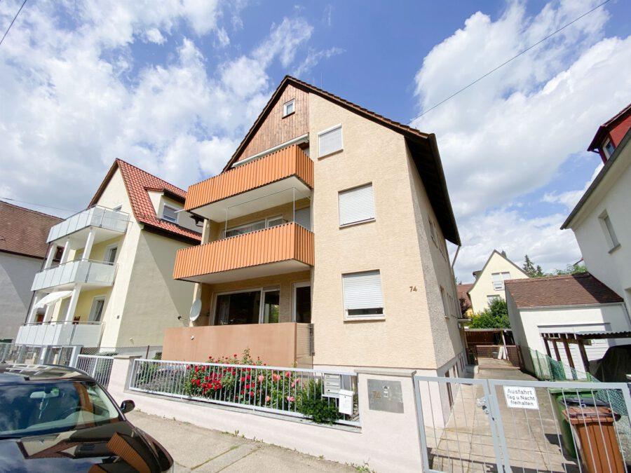 Großzügige 3-Zimmerwohnung mit Balkon (renovierungsbedürftig) - Aussenansichten