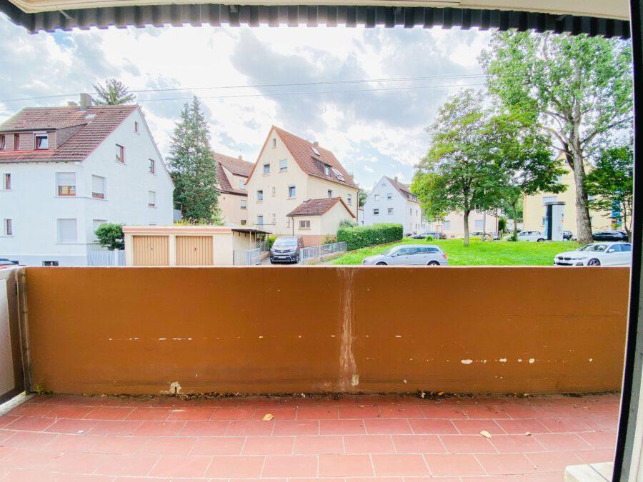 Großzügige 3-Zimmerwohnung mit Balkon (renovierungsbedürftig) - Balkon