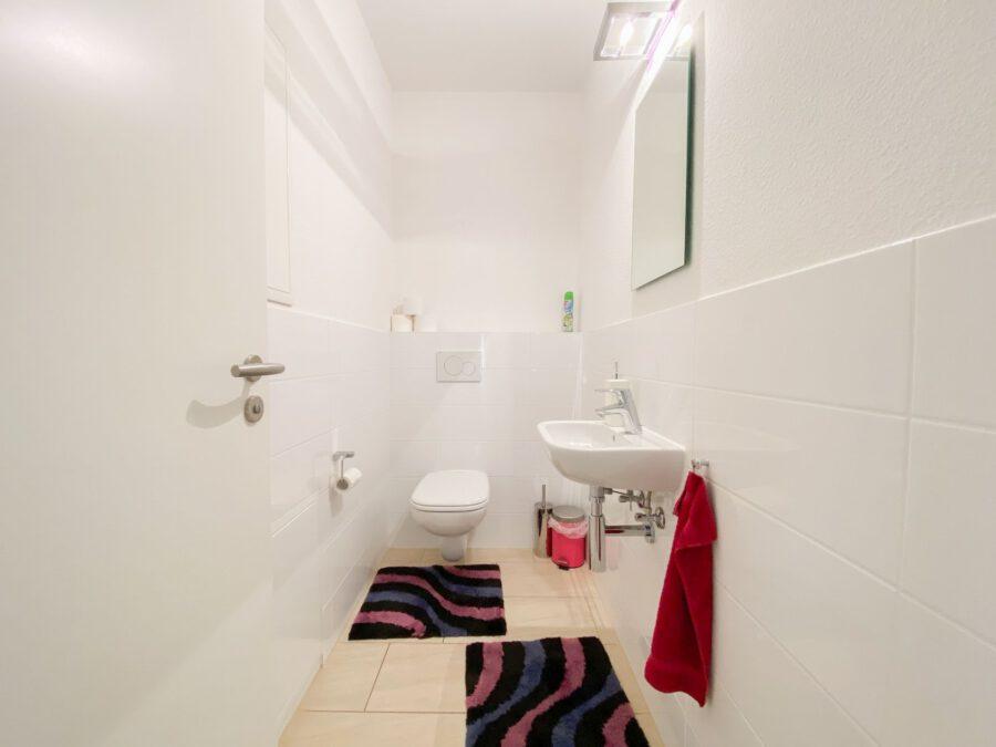 Neuwertige 3-Zimmerwohnung großer Terrasse und Einbauküche - WC