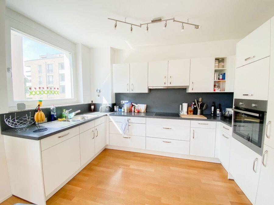 Neuwertige 3-Zimmerwohnung großer Terrasse und Einbauküche - Küche