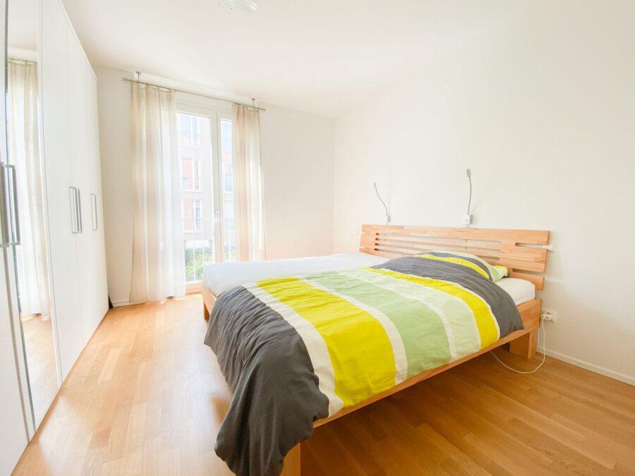 Neuwertige 3-Zimmerwohnung großer Terrasse und Einbauküche - Schlafzimmer