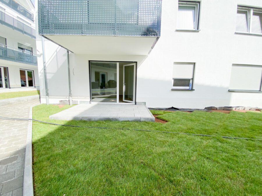 Erstbezug! Hochwertiges Apartment mit Terrasse und Küche - Terrasse