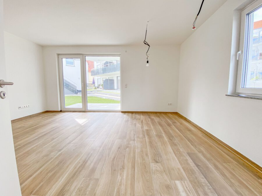 Erstbezug! Hochwertiges Apartment mit Terrasse und Küche - Zimmer