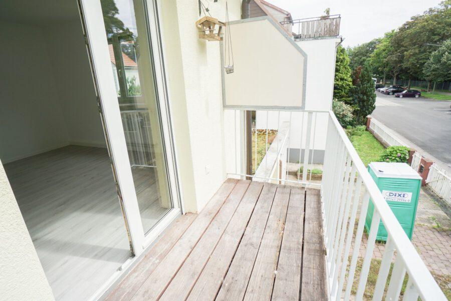 Sanierte 3-Zimmer Wohnung in ruhiger Lage - Balkon
