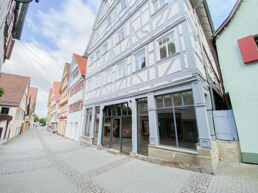 Besonders charmante Ladenfläche im Herzen von Herrenberg - Außenansicht