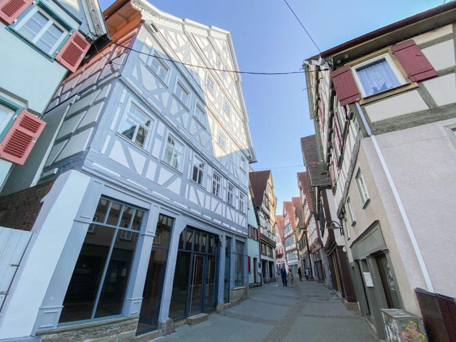 Besonders charmante Ladenfläche im Herzen von Herrenberg - Außenaischt