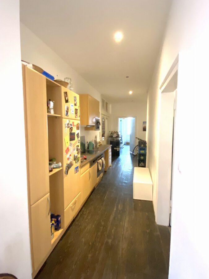 Hochwertig 4- Zimmerwohnung mit EBK (WG-geeignet) - Küche