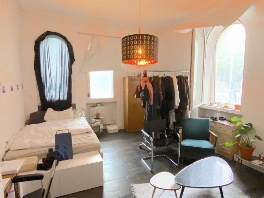 Hochwertig 4- Zimmerwohnung mit EBK (WG-geeignet) - Schlafen 3