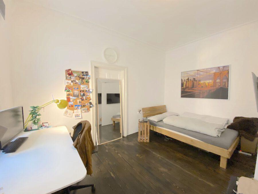 Hochwertig 4- Zimmerwohnung mit EBK (WG-geeignet) - Schlafen 2