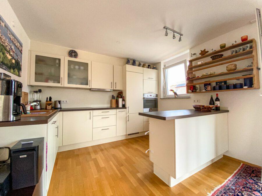 Hochwertige, barrierefreie Wohnung mit großem Balkon und EBK. - Küche
