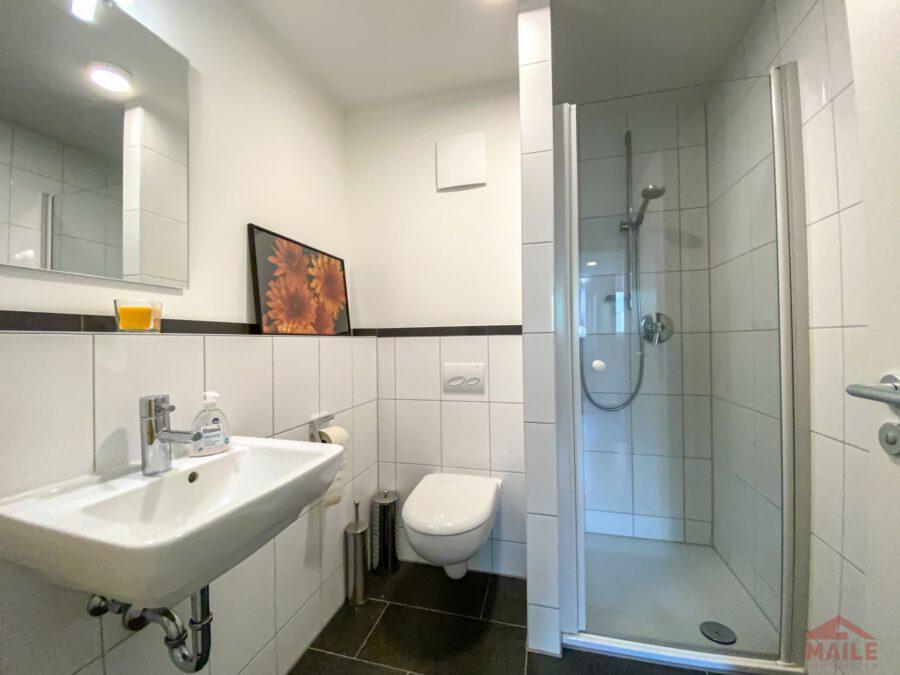 Hochwertige, barrierefreie Wohnung mit großem Balkon und EBK. - Bad 2