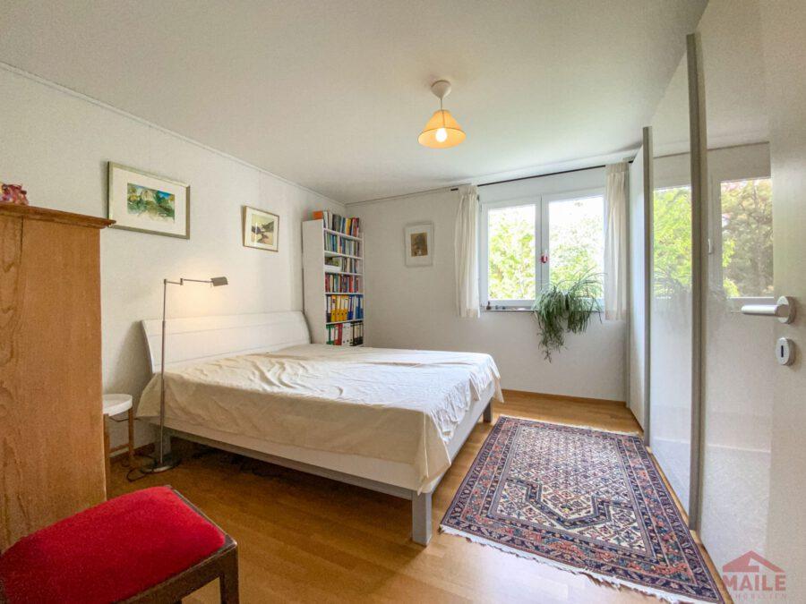 Hochwertige, barrierefreie Wohnung mit großem Balkon und EBK. - Schlafzimmer