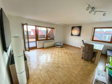 Möblierte 2-Zi-Dachgeschosswohnung in S-Riedenberg, 70619 Stuttgart Riedenberg, Etagenwohnung